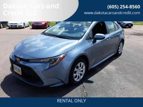 2021 Toyota Corolla for sale at Dakota Cars and Credit LLC - Dakota Auto Rentals in Sioux Falls SD