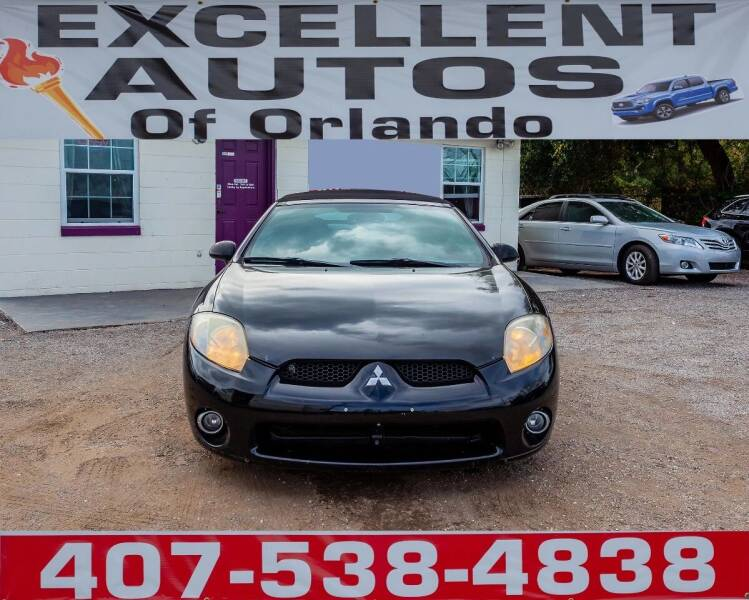 2008 Mitsubishi Eclipse Spyder for sale at Excellent Autos of Orlando in Orlando FL