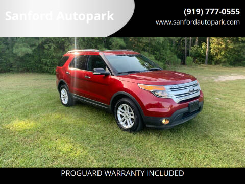 2014 Ford Explorer for sale at Sanford Autopark in Sanford NC