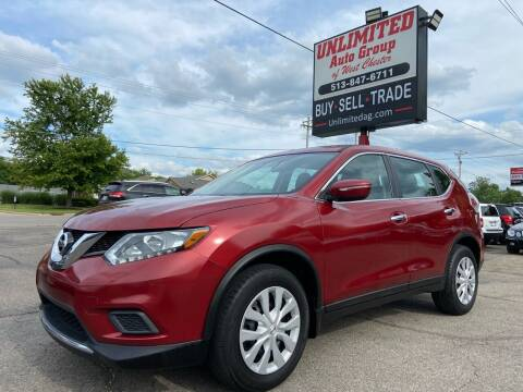 2014 Nissan Rogue for sale at Unlimited Auto Group in West Chester OH