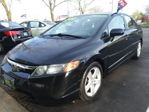 2008 Honda Civic for sale at Oak Hill Auto Sales of Wooster, LLC in Wooster OH