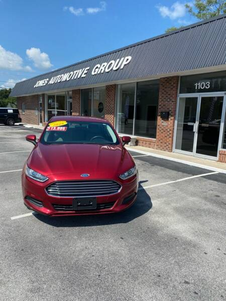 2016 Ford Fusion for sale at Jones Automotive Group in Jacksonville NC