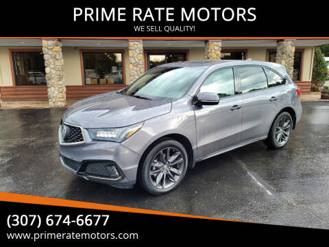 2020 Acura MDX for sale at PRIME RATE MOTORS in Sheridan WY