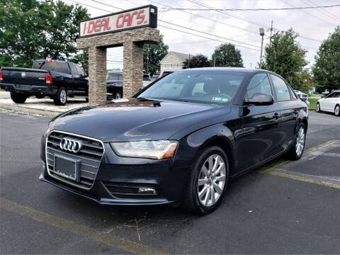 2014 Audi A4 for sale at I-DEAL CARS in Camp Hill PA