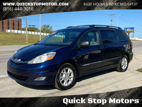 2006 Toyota Sienna for sale at Quick Stop Motors in Kansas City MO