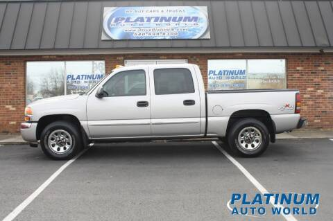 2007 GMC Sierra 1500 Classic for sale at Platinum Auto World in Fredericksburg VA
