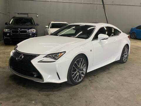 2016 Lexus RC 200t for sale at EA Motorgroup in Austin TX