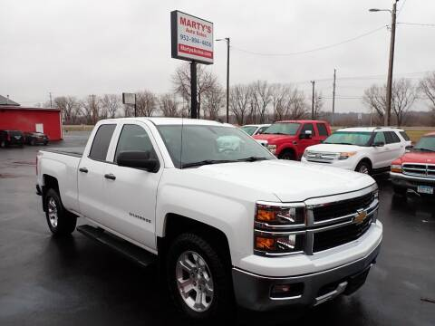 2014 Chevrolet Silverado 1500 for sale at Marty's Auto Sales in Savage MN
