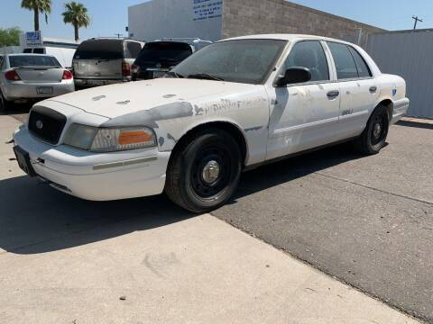 2007 Ford Crown Victoria for sale at MT Motor Group LLC in Phoenix AZ