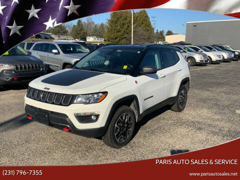 2020 Jeep Compass for sale at Paris Auto Sales & Service in Big Rapids MI