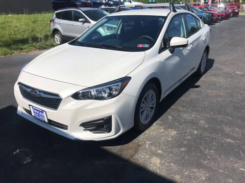 2017 Subaru Impreza for sale at Singer Auto Sales in Caldwell OH