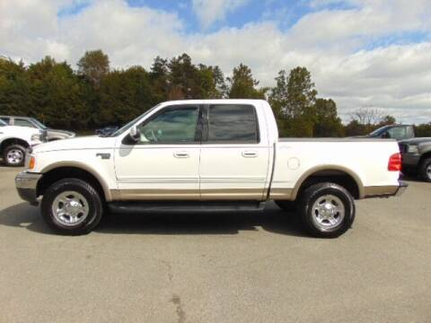 2002 Ford F-150 for sale at E & M AUTO SALES in Locust Grove VA