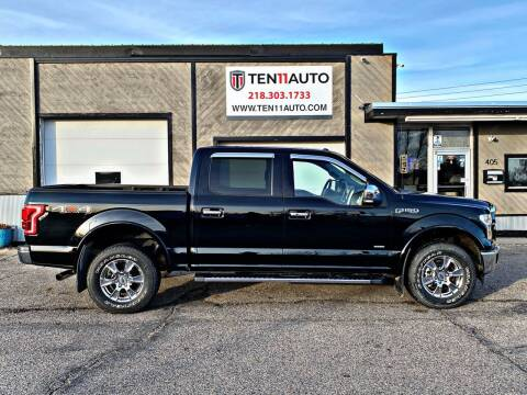 2017 Ford F-150 for sale at Ten 11 Auto LLC in Dilworth MN