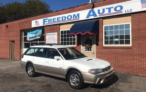 1998 Subaru Legacy for sale at FREEDOM AUTO LLC in Wilkesboro NC