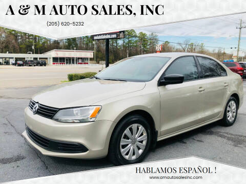 2013 Volkswagen Jetta for sale at A & M Auto Sales, Inc in Alabaster AL
