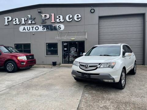 2009 Acura MDX for sale at PARK PLACE AUTO SALES in Houston TX