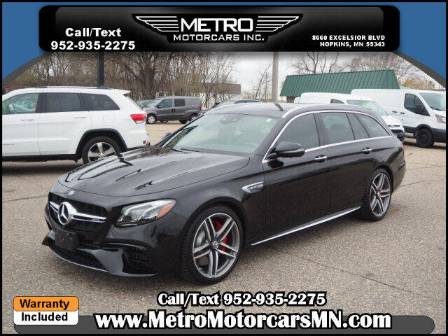 2018 Mercedes-Benz E-Class for sale at Metro Motorcars Inc in Hopkins MN