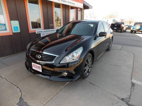 2012 Infiniti G37 Sedan for sale at Autoland in Cedar Rapids IA