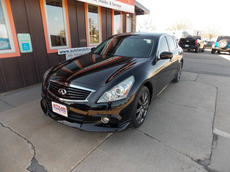 2012 Infiniti G37 Sedan for sale at Autoland in Cedar Rapids IA