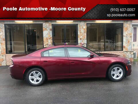 2020 Dodge Charger for sale at Poole Automotive in Laurinburg NC