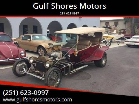 1923 Ford Touring for sale at Gulf Shores Motors in Gulf Shores AL