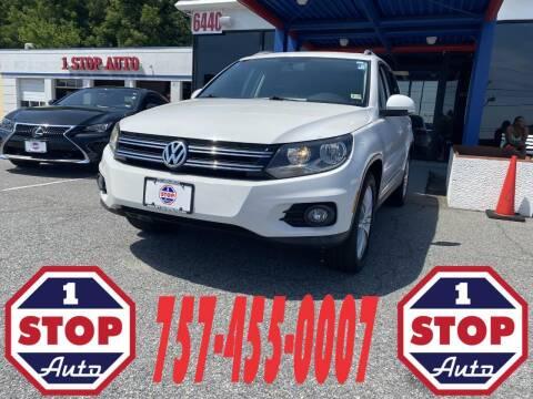2014 Volkswagen Tiguan for sale at 1 Stop Auto in Norfolk VA