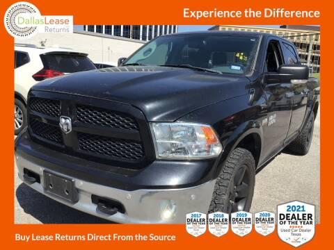 2015 RAM Ram Pickup 1500 for sale at Dallas Auto Finance in Dallas TX