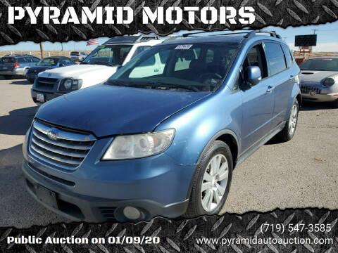 2008 Subaru Tribeca for sale at PYRAMID MOTORS - Pueblo Lot in Pueblo CO