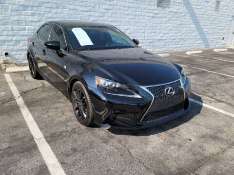 2015 Lexus IS 250 for sale at ADVANTAGE AUTO SALES INC in Bell CA