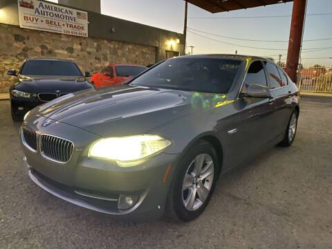 2013 BMW 5 Series for sale at American Automotive , LLC in Tucson AZ