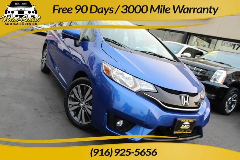 2015 Honda Fit for sale at West Coast Auto Sales Center in Sacramento CA