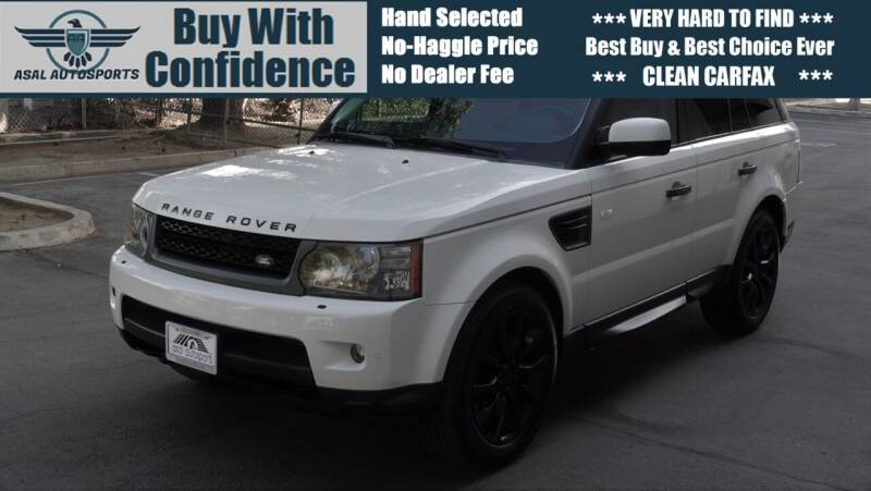 2010 Land Rover Range Rover Sport for sale at ASAL AUTOSPORTS in Corona CA