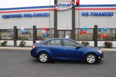 2012 Chevrolet Cruze for sale at Ultimate Auto Deals DBA Hernandez Auto Connection in Fort Wayne IN