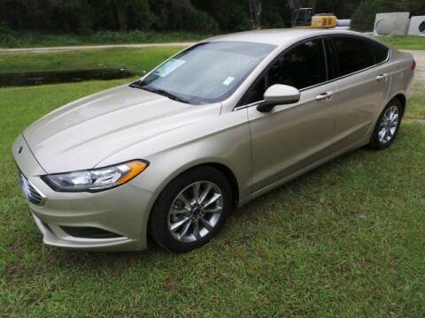 2017 Ford Fusion for sale at TIMBERLAND FORD in Perry FL