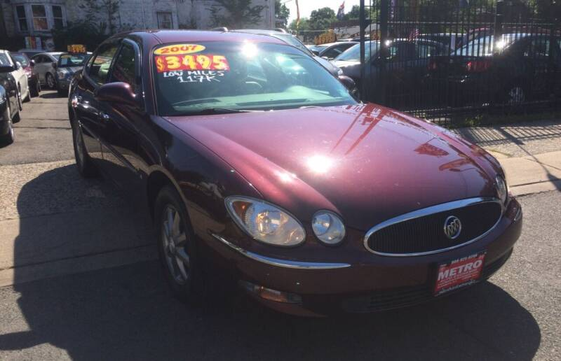 2007 Buick LaCrosse for sale at Metro Auto Exchange 2 in Linden NJ