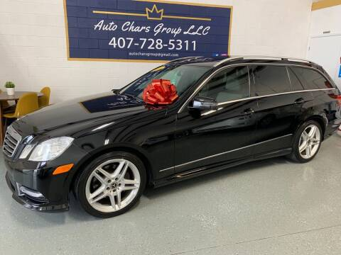 2013 Mercedes-Benz E-Class for sale at Auto Chars Group LLC in Orlando FL