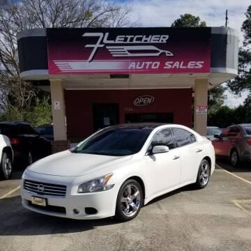 2009 Nissan Maxima for sale at Fletcher Auto Sales in Augusta GA