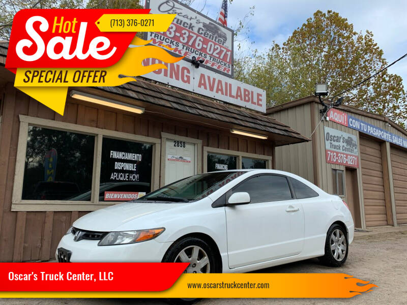2006 Honda Civic for sale at Oscar's Truck Center, LLC in Houston TX