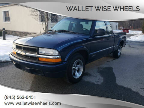1998 Chevrolet S-10 for sale at Wallet Wise Wheels in Montgomery NY