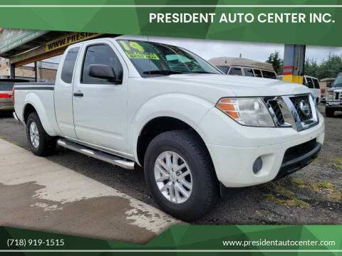 2014 Nissan Frontier for sale at President Auto Center Inc. in Brooklyn NY
