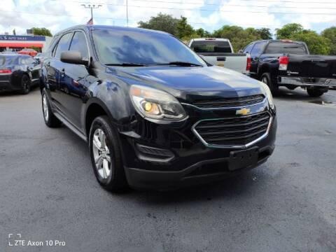 2016 Chevrolet Equinox for sale at Start Auto Liquidation Center in Miramar FL