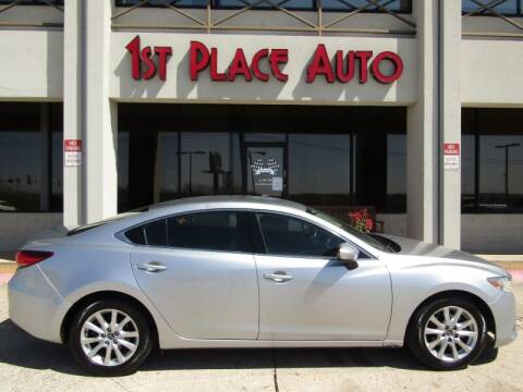 2016 Mazda MAZDA6 for sale at First Place Auto Ctr Inc in Watauga TX