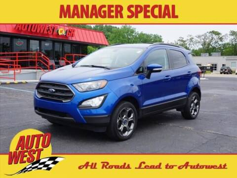 2018 Ford EcoSport for sale at Autowest of GR in Grand Rapids MI