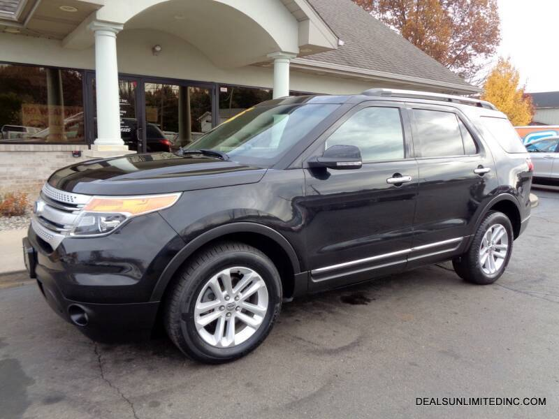 2011 Ford Explorer for sale at DEALS UNLIMITED INC in Portage MI
