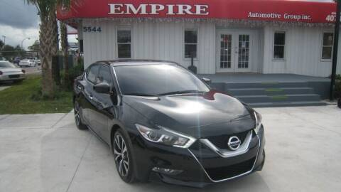 2017 Nissan Maxima for sale at Empire Automotive Group Inc. in Orlando FL