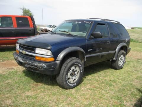 2000 Chevrolet Blazer for sale at Precious Pics Motors in Hinton OK