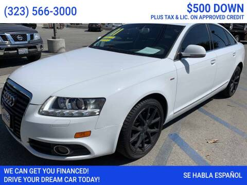 2011 Audi A6 for sale at Best Car Sales in South Gate CA