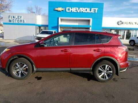 2018 Toyota RAV4 for sale at Finley Motors in Finley ND