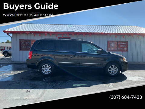 2010 Chrysler Town and Country for sale at Buyers Guide in Buffalo WY