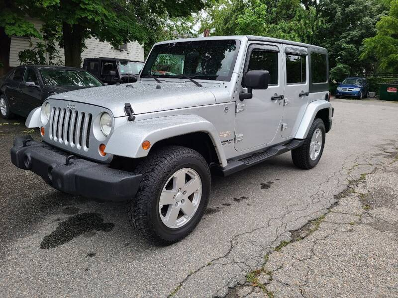 2007 Jeep Wrangler Unlimited for sale at Devaney Auto Sales & Service in East Providence RI